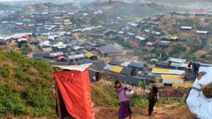 কক্সবাজার জেলার একটি রোহিঙ্গা আশ্রয় শিবির