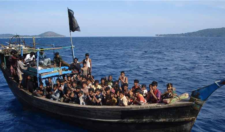 Migration journey via the Bay of Bengal